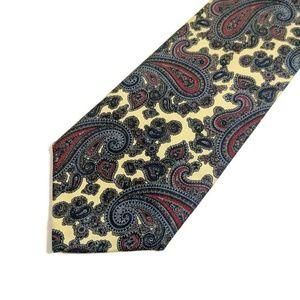 Bert Pulitzer 100% Silk Paisley Tie